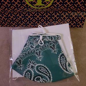 Tory Burch face mask with filter packet